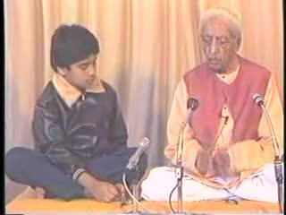 J Krishnamurti talk with children1984 (art 1 0f 5)