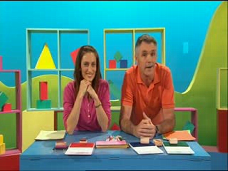 Courier on Play School (back in the day)