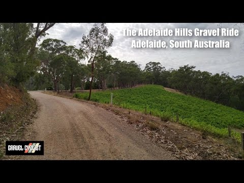 Gravel ride through the Adelaide Hills