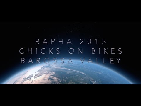 2015 RAPHA- Chicks on Bikes. Barossa Valley