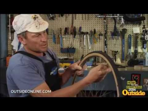 Lance Armstrong Flat Tire Video
