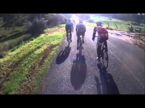 GAWLER WHEELERS - 12/JUL/14 - RAPID GROUP - RIDING WITH ANDREW M