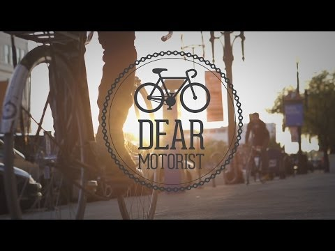 Dear Motorist a powerful share the road campaign video