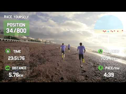 Google Glass - Race Yourself - Virtual Reality Fitness Motivation