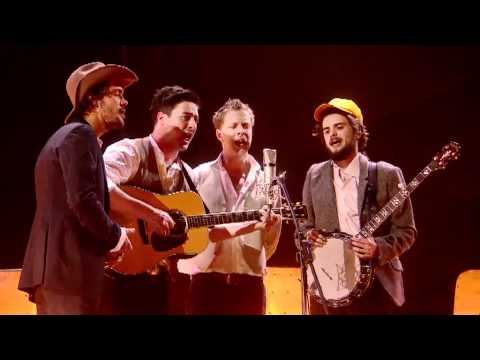 Mumford & Sons performing Timshel | BRIT Awards 2011