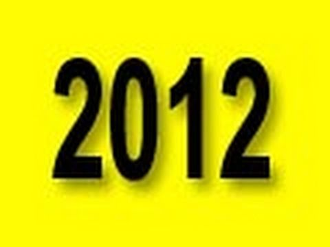 THOUGHTS ON 2012