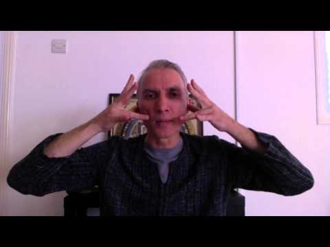 Cleaning Pineal Gland - Exercise shown at Drunvalo Melchizedek workshop by Daniel Mitel
