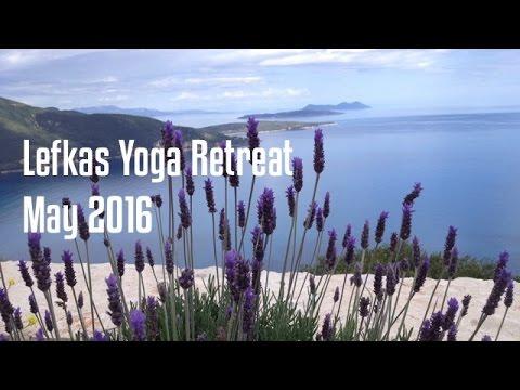 Yoga retreat Lefkas, Greece May 2016