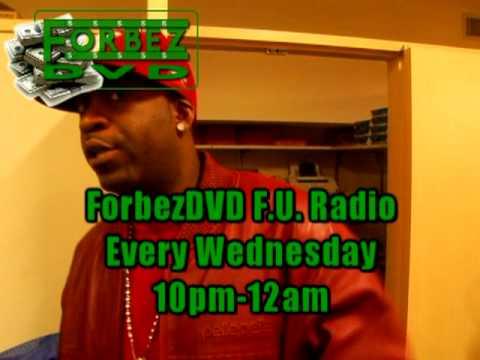 Tony Yayo ForbezDVD F.U. Radio Promo (Every Wednesday 10pm-12am)