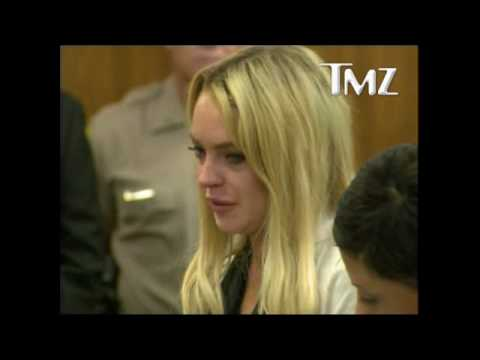 Lindsay Lohan Begging, Crying, Pleading Judge For Leniency In Court [July 6 2010]