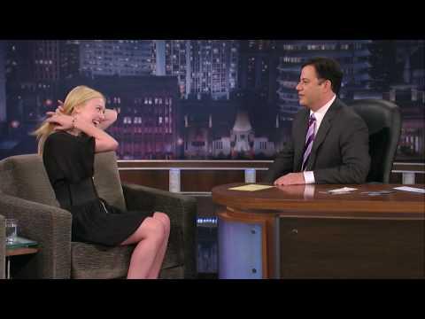 Dakota Fanning Interview On Jimmy Kimmel Pt 2 of 2