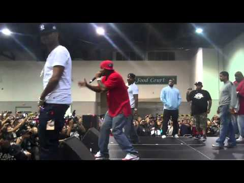 Dipset performs at The Hot 106 & Funkmaster Flex Car Show in Providence!