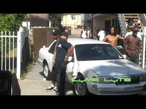 "Nipsey Hussle behind scenes music video ""Feeling Myself"""