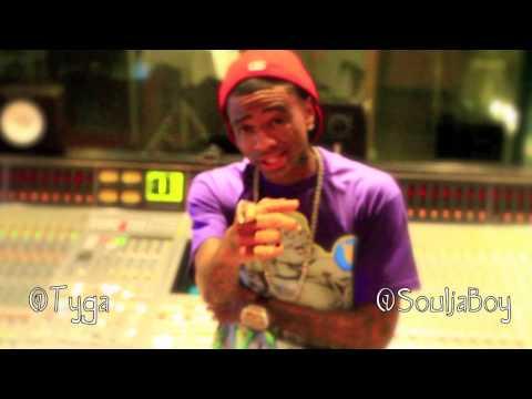 Soulja Boy & Tyga - Be Quiet [In-Studio Performance]