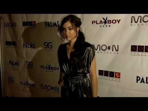 Sasha Grey Moon Nightclub Palms Vegas Red Carpet