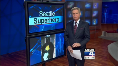 A Night Out With Seattle Super Heroes LOL