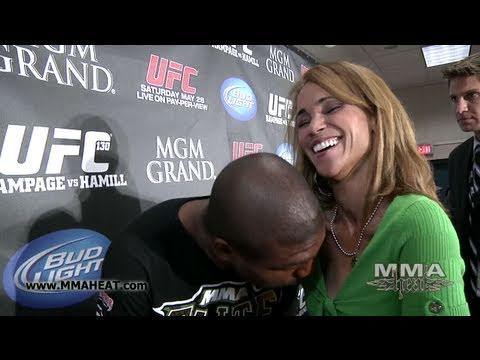 UFC 130's Rampage Jackson on Revenge Fights, His Black Fans + Motorboating