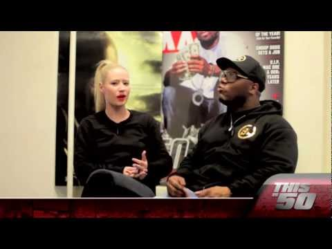 "Iggy Azalea Talks About ""Pu$$y"", Kreayshawn Comparisons & Being Star Strucked Meeting 50"