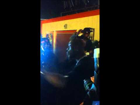 Dmx and west coast rapper Boo Kapone battle vs. Random guy .