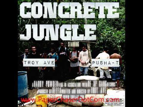 Troy Ave Ft. Pusha T - Concrete Jungle [2012 December Dirty CDQ NO DJ]