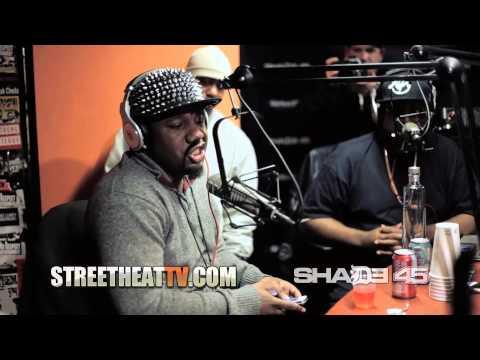"Murda Mook Kills a ""Freestyle"" at Shade45 with DJ Kay Slay"