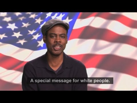 LMAO: Chris Rock - Message for White Voters
