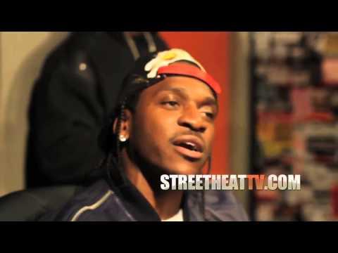 Pusha T - Blocka [2013 In Studio Music Video] At Shade 45 With DJ Kay Slay