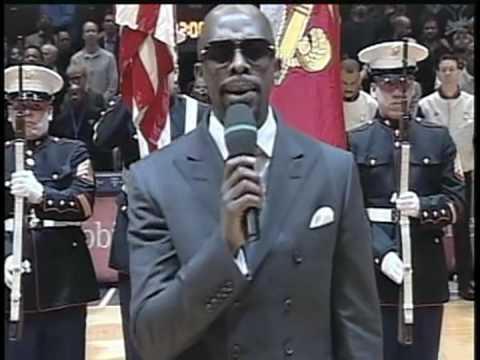 JOE - Joe Thomas Sings National Anthem