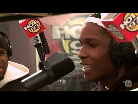 ASAP Rocky and ASAP Mob Freestyle on Funk Flex