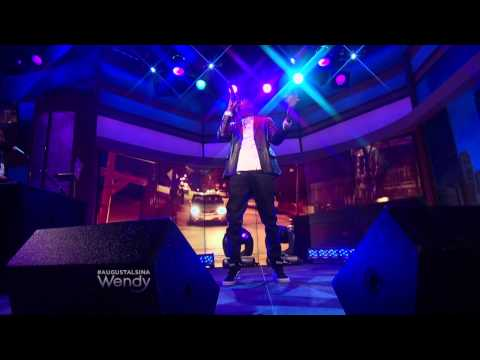 """August Alsina Performs """"I Luv This"""" On The Wendy Williams Show"""