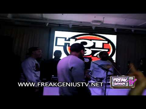 "Chinx Drugz Performs ""I'm A Cokeboy"" x ""Feelings"" At Hot 97 Holiday Party (2013 Official Video)"