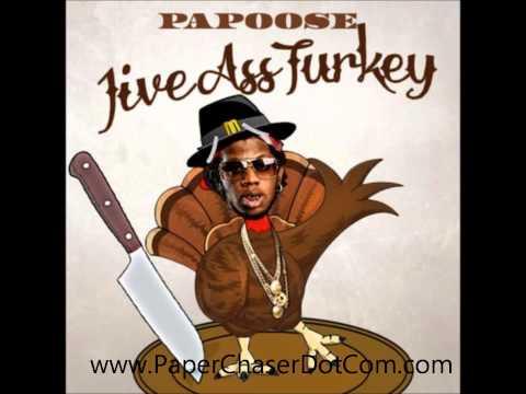 Papoose - Jive Ass Turkey (Trinidad James Diss) 2013 New CDQ Dirty NO DJ