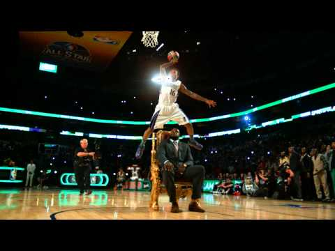 Ben McLemore's NBA Dunk Contest Jam Over Shaqille O'Neal at 1,000 Frames per Second!