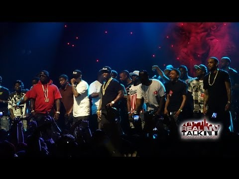 50 Cent & G-Unit Perform 'In Da Club' x 'So Seductive' x 'Hate It Or Love It' x Straight Outta Southside' At Webster Hall