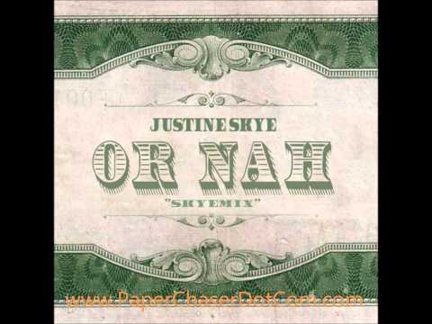 Ty Dolla $ign x Justine Skye x Wiz Khalifa - Or Nah (Remix) 2014 New CDQ Dirty NO DJ