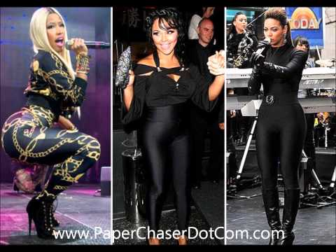 Lil Kim x Beyonce - Flawless Remix (Nicki Minaj Diss) 2014 New CDQ Dirty NO DJ