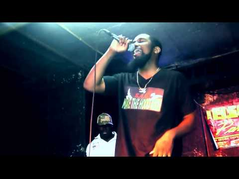 S.4.G OPENS UP FOR YMCMB CORY GUNZ @ CLUB PYRAMID NYC JULY 16 2014