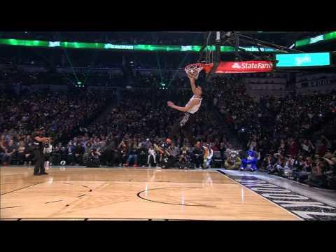 "Zach LaVine Throws Down the ""Space Jam"" Dunk: 2015 Sprite Slam-Dunk Contest"