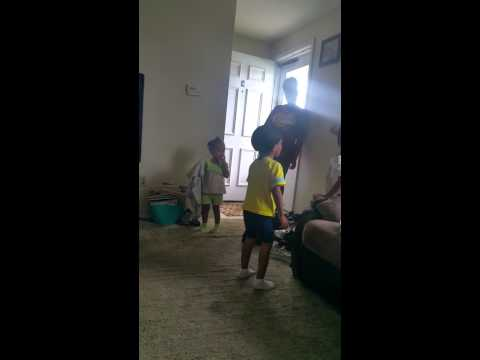 LMAO: 3-Year Old Impersonates Hollow Da Don In His Battle With Charlie Clips