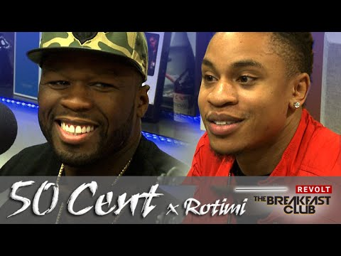 50 Cent & Rotimi Interview | The Breakfast Club Power 105.1 | 6/17/2015