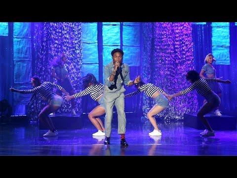 Pharrell Williams Performs 'Freedom' On Ellen DeGeneres