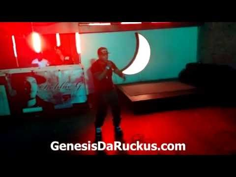 Genesis The Ruckus Rapshow @ DSTRT Nightclub In Geulph
