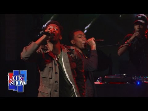 Desiigner Performs 'Panda' On The Late Show with Stephen Colbert