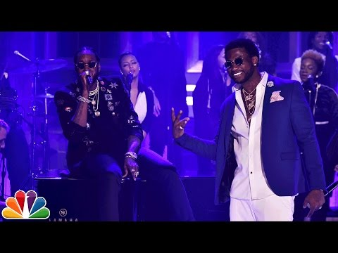 2 Chainz ft. Gucci Mane: Good Drank On The Tonight Show