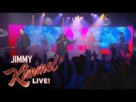 Wale Performs 'Fashion Week' Ft. G-Eazy On Jimmy Kimmel Live (Video)