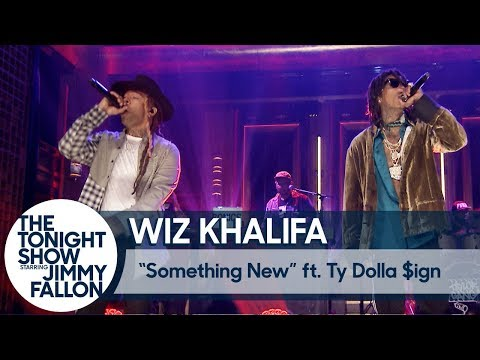 Wiz Khalifa ft. Ty Dolla $ign: Something New On The Tonight Show