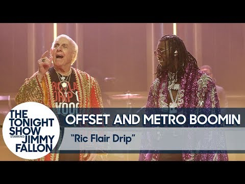 """Offset & Metro Boomin Perform """"Ric Flair Drip"""" with the Real Ric Flair"""