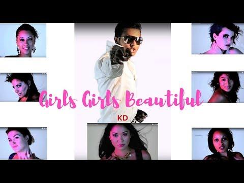 "King Darshaan ""Girls Girls Beautiful"" - official music video"