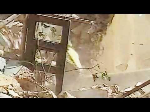 Destruction du village Fantôme de Domeño viejo, Valencia Espagne.