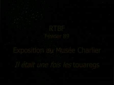 RTBF- Exposition au Musee Charlier fév.1989